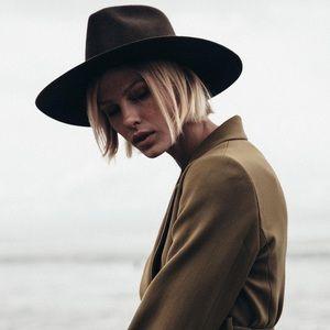 Janessa Leone Lennon wool hat